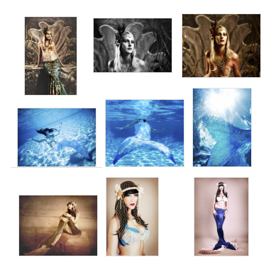 Stock Photogrpahy of Mermaids